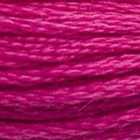 DM117-3804 STRANDED COTTON 8M SKEIN Dark Fuchsia Pink