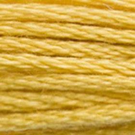 DM117-3821 STRANDED COTTON 8M SKEIN Straw Yellow