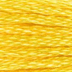 DM117-0973 STRANDED COTTON 8M SKEIN Daffodil Yellow