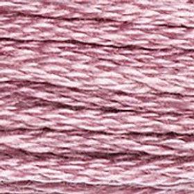 DM117-3688 STRANDED COTTON 8M SKEIN Pink Mauve