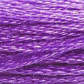 DM117-0208 STRANDED COTTON 8M SKEIN Pansy Lavender