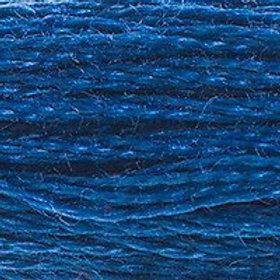 DM117-0311 STRANDED COTTON 8M SKEIN Dark Polar Blue