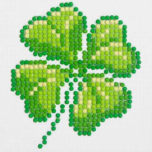 Diamond Dotz Four Leaf Clover