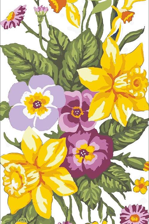 Grafitec Printed Tapestry Daffodils