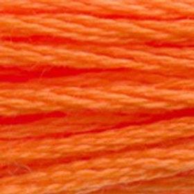 DM117-0970 STRANDED COTTON 8M SKEIN Bright Orange