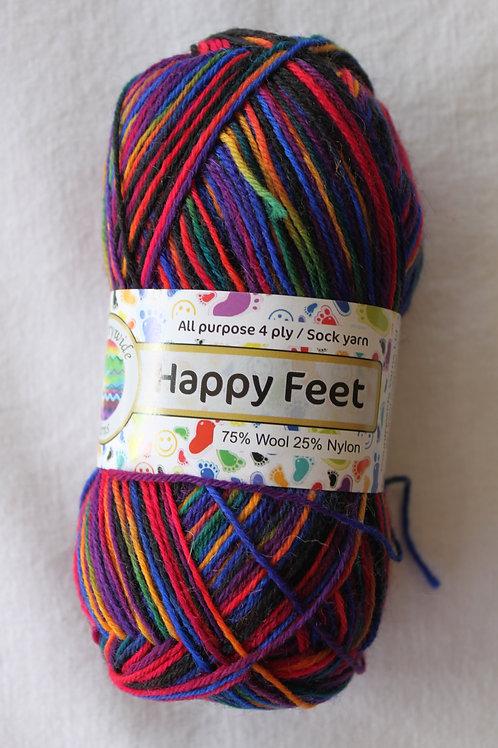 Happy Feet 4PLY DK 75% Wool / 25% Nylon 50gm Shade 34