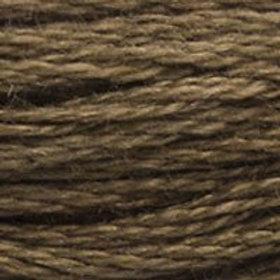 DM117-3781 STRANDED COTTON 8M SKEIN Metal Brown