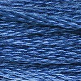 DM117-0825 STRANDED COTTON 8M SKEIN Sea Blue