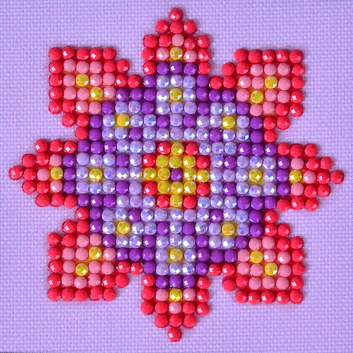 Diamond Dotz Flower Mandala 2