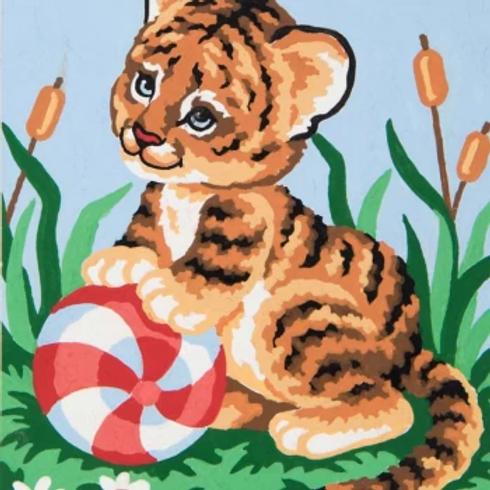 Grafitec Printed Tapestry Baby Tiger