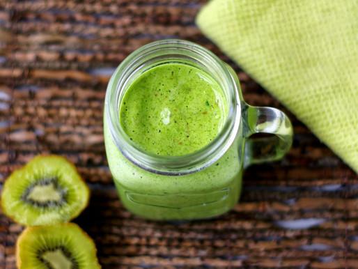 Kiwi druif smoothie