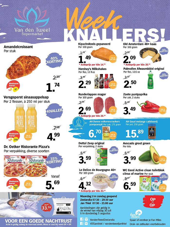 A4 Supermarkt Curacao Van den Tweel Zeelandia en Jan Thiel Weekknallers week 30 NL.png