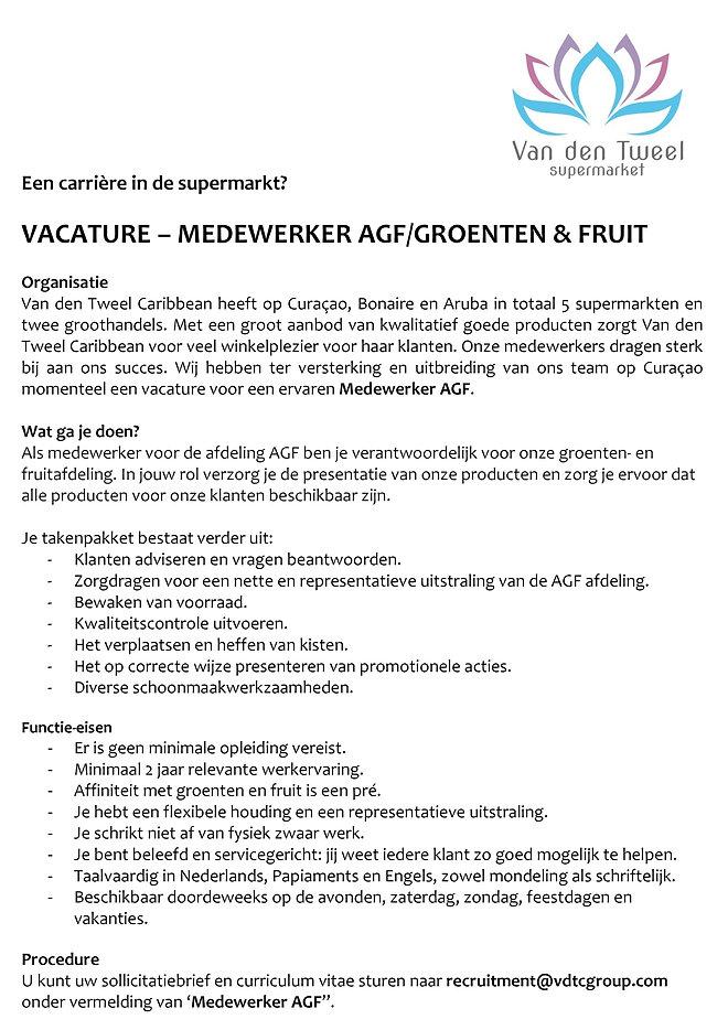 vacature tekst medewerker AGF van den tweel supermarkt curacao.jpg