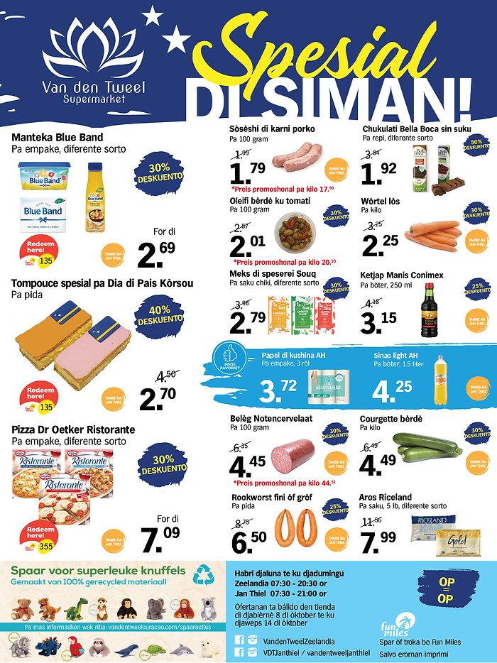 PAP A4 Weekknallers week 40-41 van den tweel supermarkt curacao zeelandia en jan thiel.jpg