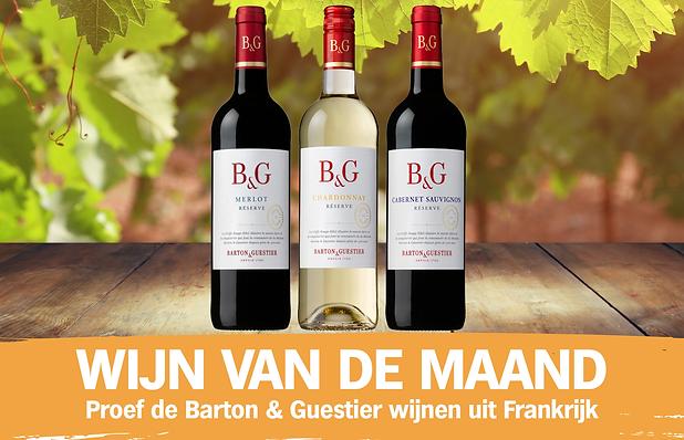 Website Wijn van de maand september Barton & Guestier - van den tweel supermarkt curacao.p