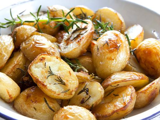 Geroosterde aardappelen uit de oven