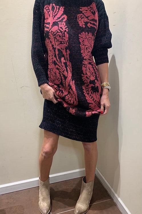 שמלת סריג וינטג׳ית