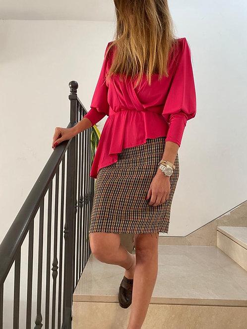 חצאית וינטג׳ פפיטה במראה אופנתי