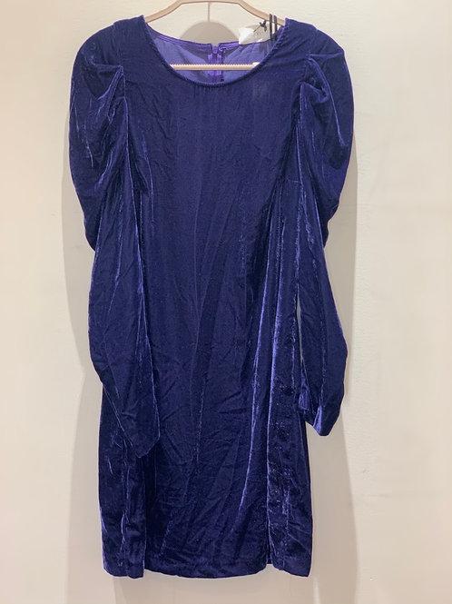 שמלה דמוי קטיפה