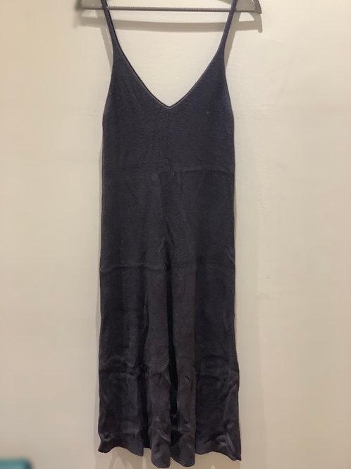 שמלה קיצית אפור כהה