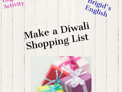 Diwali Activity