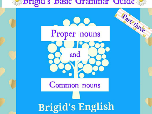 Proper & Common Nouns