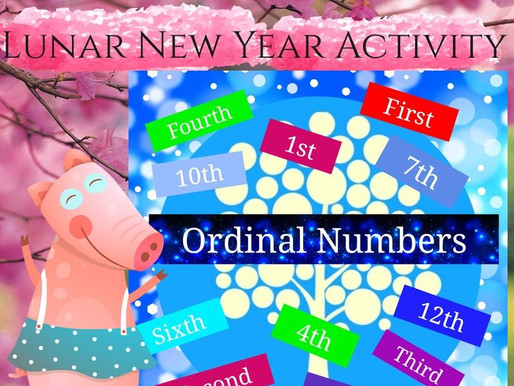 Ordinal Numbers for Lunar New Year
