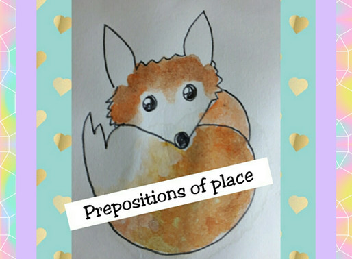 "Prepositions of place with ""Fantastic Mr Fox""."