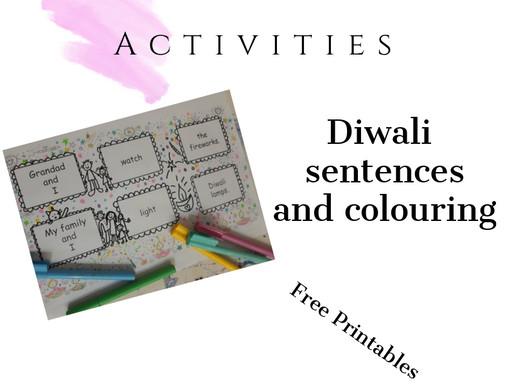 Diwali Sentences