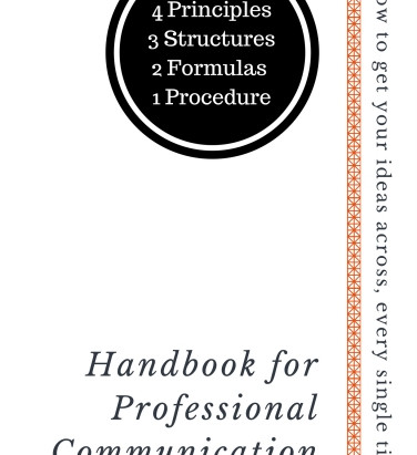 Communications in policy making: making it professional for policy success