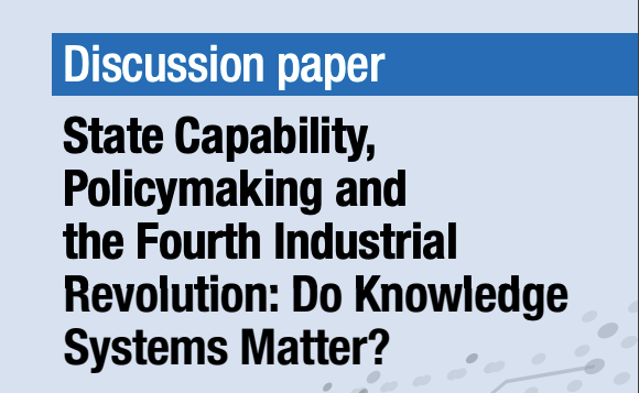 Knowledge, governance and the 4th Industrial Revolution