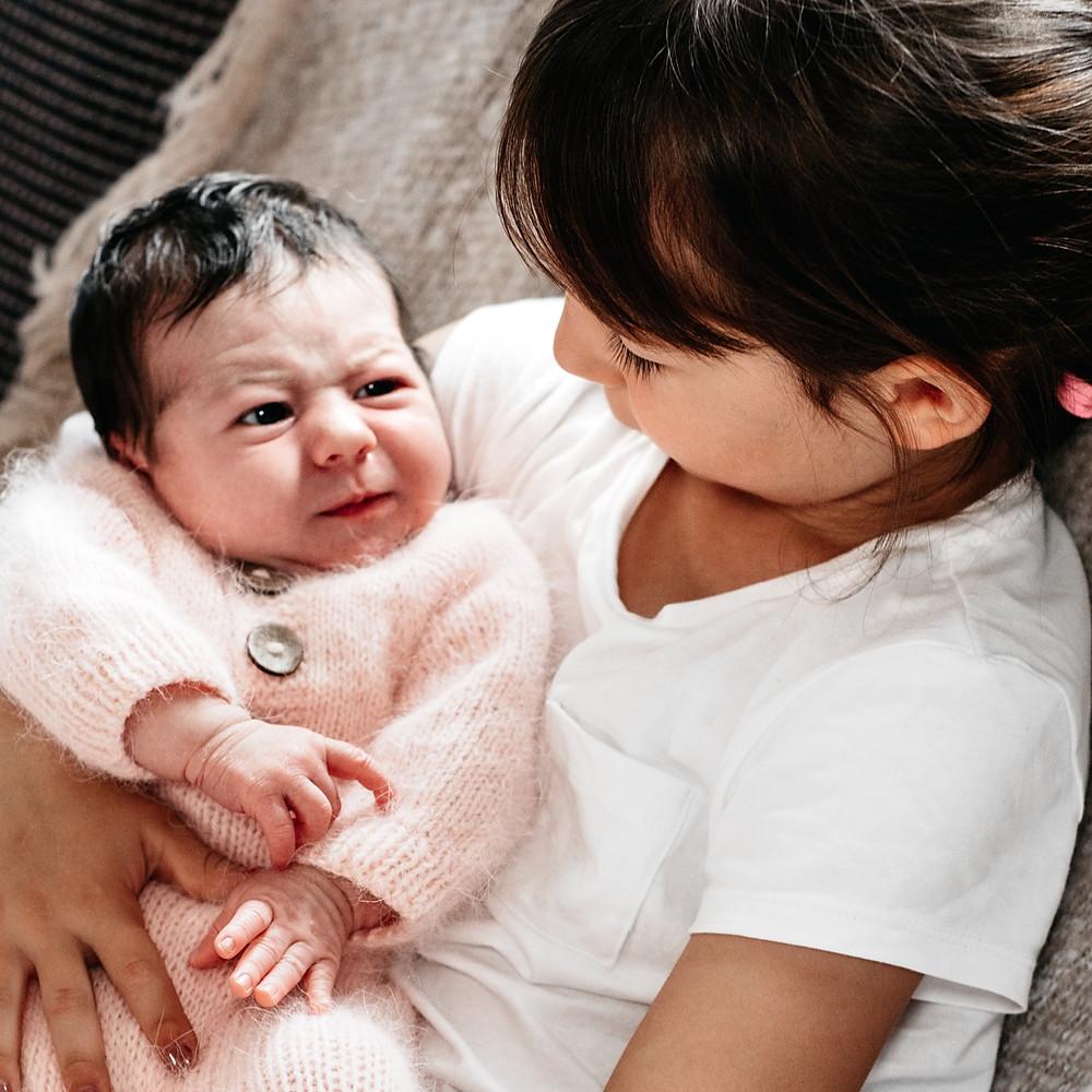 Newborn Jule & ihre Familie