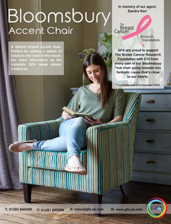 Bloomsbury Teal Breast Cancer Advert 111