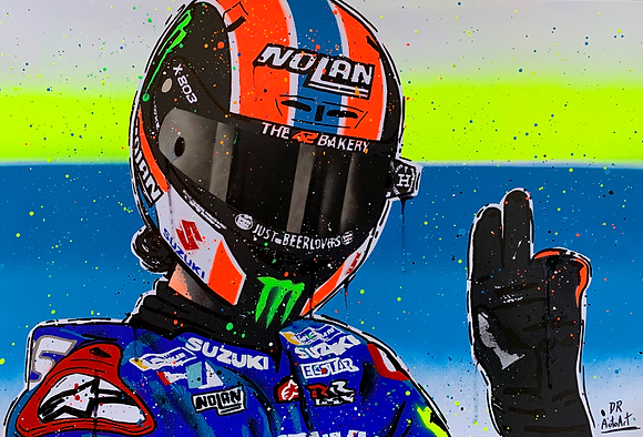Alex Rins - Graffiti Painting