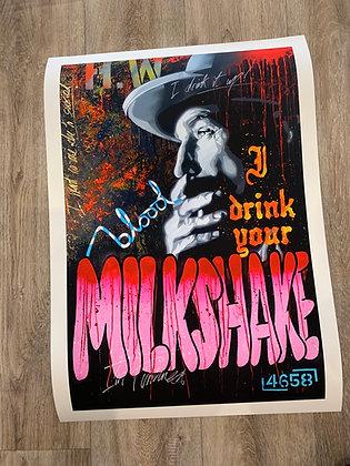 MILKSHAKE - Ltd Edition A2 giclee print