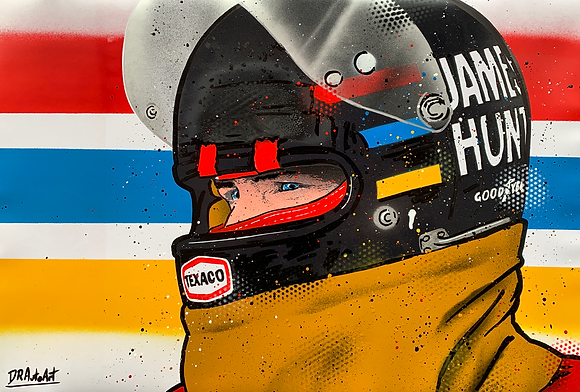James Hunt - Graffiti Painting