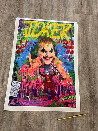 JOKER - Ltd Edition A2 giclee print