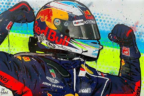 Daniel Ricciardo, Red Bull - Graffiti Painting