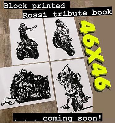 46X46 ULTIMATE FAN BUNDLE - Tribute Book plus ALL 46 block prints! PRE-ORDER!