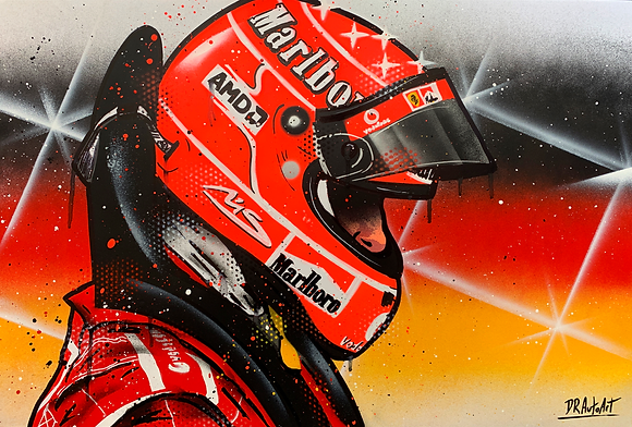 Michael Schumacher - Graffiti Painting