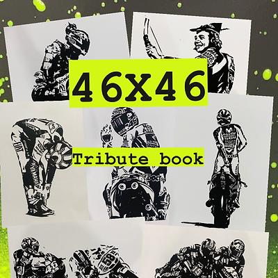 46X46 - Valentino tribute book. PRE-ORDER!
