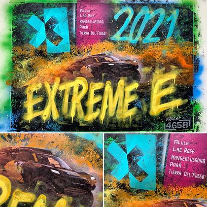 Extreme E - Ltd Edition A2 giclee print