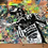 Thumbnail: Rossi Podium - Graffiti Painting on Recycled Rag