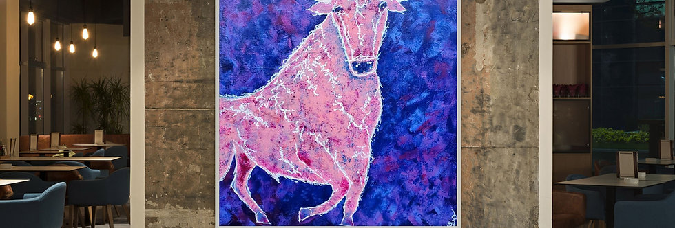 Blushing Bull