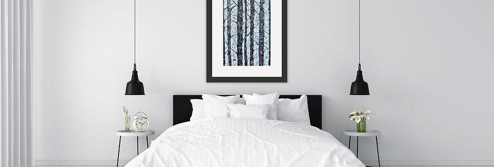 Winters Golden Birch