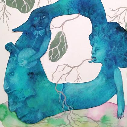 Blue Body detail