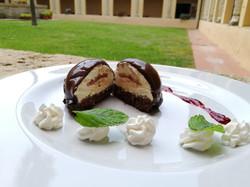 Semisfera doppio cioccolato