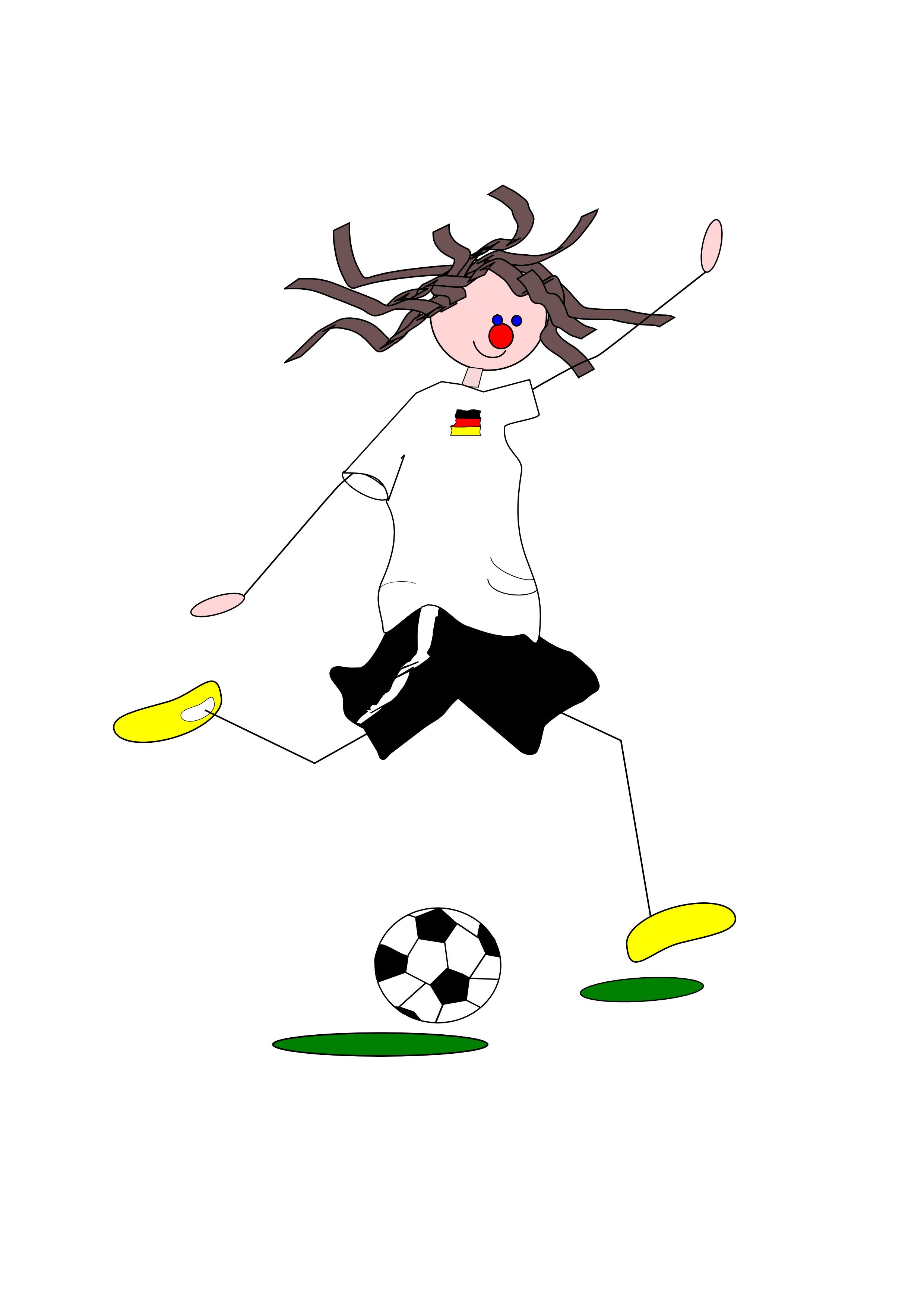 Kicking like Beckham