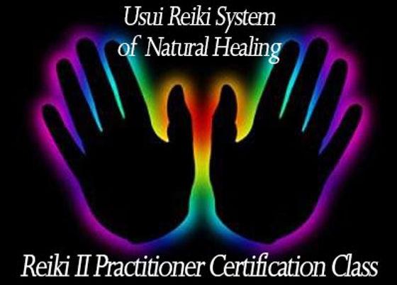 Reiki II Certification Class Promo Image