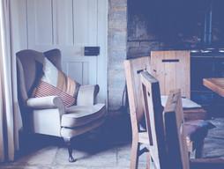 Platz Hölzerne Stühle